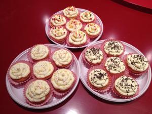 Cupcakes au coeur de Nutella