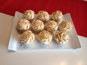 Cupcakes Beurre de Cacahuete