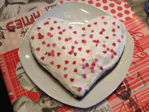 Moelleux au chocolat et chantilly légère (Weight watchers)