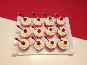 Cupcakes Framboise