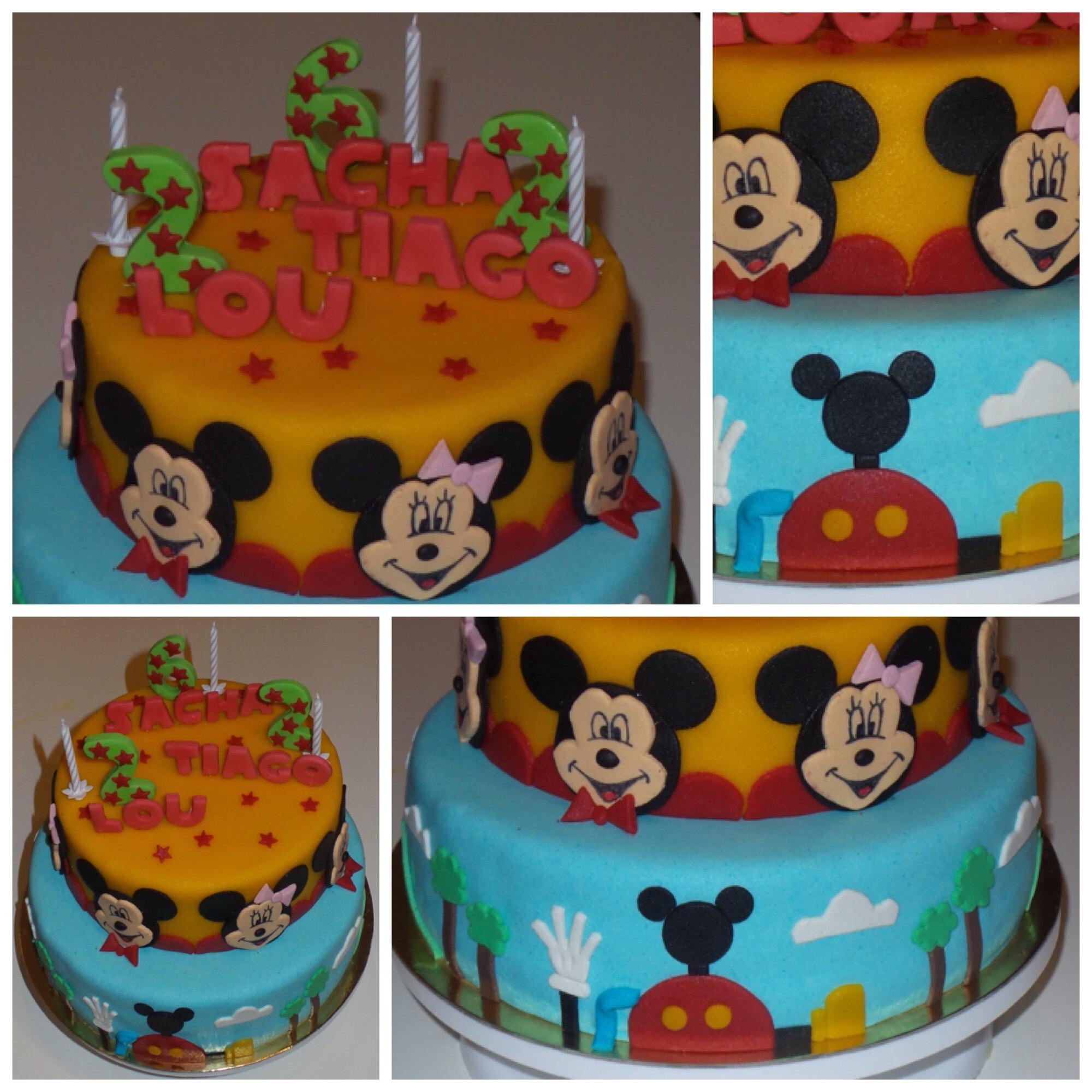 Préférence La maison de Mickey… Maison de Mickey… | Les pâtisseries de Julie ZV07